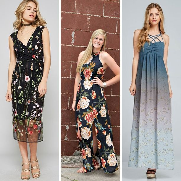 The Loft on Main has a fantastic selection of dresses for your special summer events!  Shop this look at The Loft in store or online...
