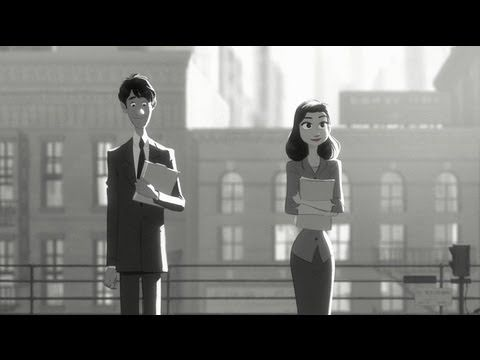 Disney's new short! Paperman - Full Animated Short Film