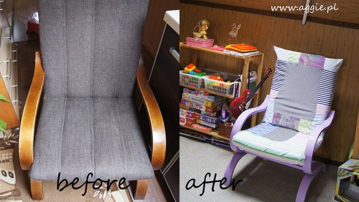 chair DIY patchwork