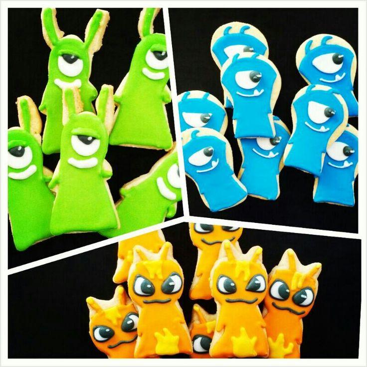 Slugterra Cookies