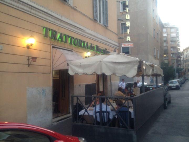 Da Bucatino nel Roma, Lazio