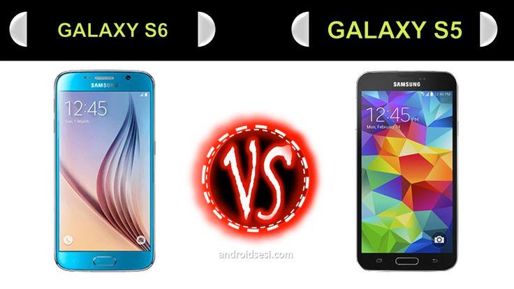 Samsung Galaxy S6 vs Galaxy S5 Karşılaştırma & Compare