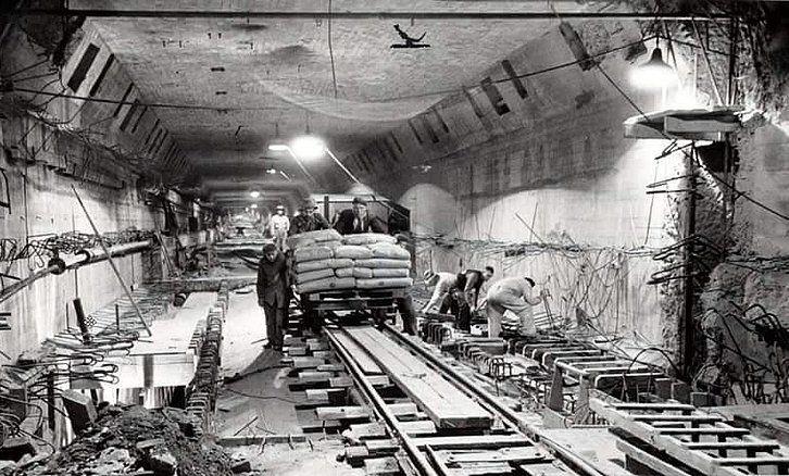Maastunnel Rotterdam (jaartal: 1930 tot 1940) - Foto's SERC