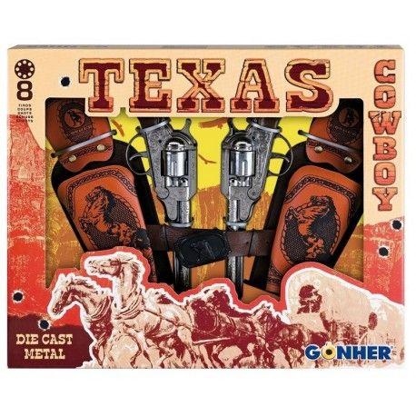 Piątek, Piąteczek, Weekendzik:) Kochamy:)  Każdemu kowbojowi na dzikim zachodzie potrzeby jest rewolwer to ochrony bydła lub toczenia pojedynków.  Prosto z Hiszpanii (oczywiści Replika) 2 Metalowe Rewolwery na Kapiszony dla Dzieci od lat 3 - Cowboy od GONHER  W całości wykonane są z metalu, bardzo precyzowanie wykończone.   Miłego Kowbojskiego Weekendu:)  http://www.niczchin.pl/repliki-broni-pistolety-dla-dzieci/3006-metalowe-rewolwery-na-kapiszony-dla-dzieci-cowboy-gonher.html