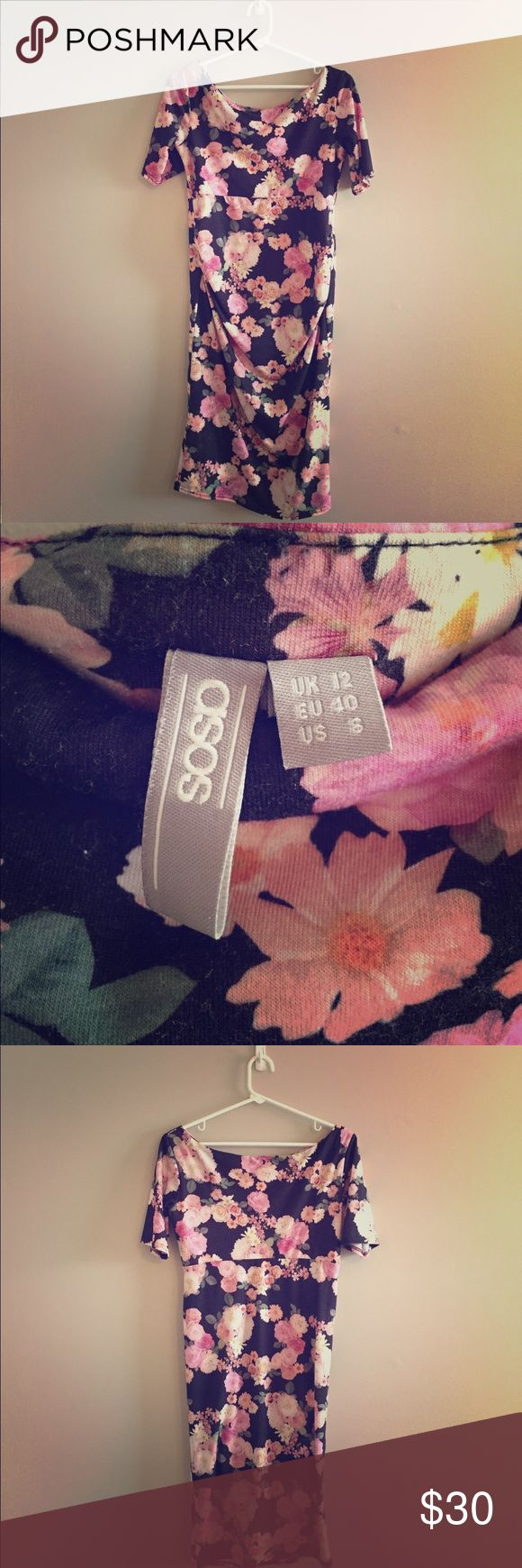 Selling this Asos Floral Maternity Dress on Poshmark! My username is: patricianelson. #shopmycloset #poshmark #fashion #shopping #style #forsale #ASOS Maternity #Dresses & Skirts