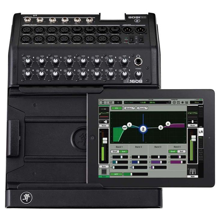 Mackie DL1608 DL 16-channel Digital Live Sound Mixer w/ iPad Control Lightning
