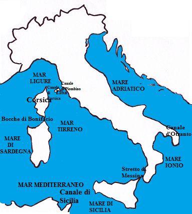 Il mare Mediterraneo
