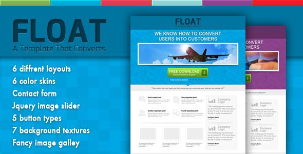 Float - Landing Page