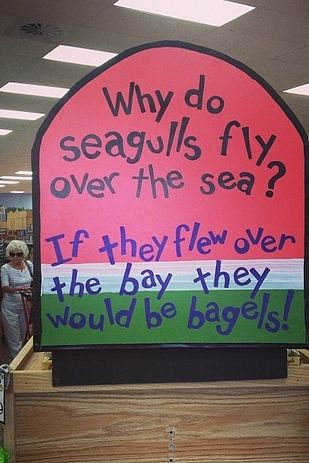 Admit it, you find their in-store marketing endearing. | 23 Reasons Trader Joe's Is The Best Grocery Store That Ever Was