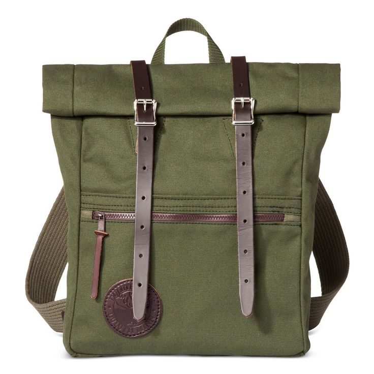 Duluth Pack Roll Top Scout Pack - Army Green One Size