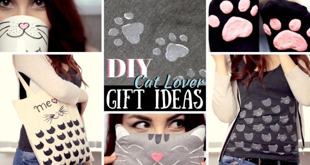 DIY: 5 Gift Ideas for Cat Lovers - Gift Set How to - Present Thoughts