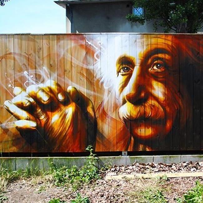 Fransız Sokak Sanatçısı Dan23'ten Şehre Hayat Veren 20+ Duvar Boyama Çalışması Sanatlı Bi Blog 13