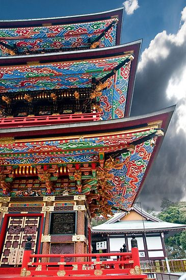Narita Temple Pagoda, Japan