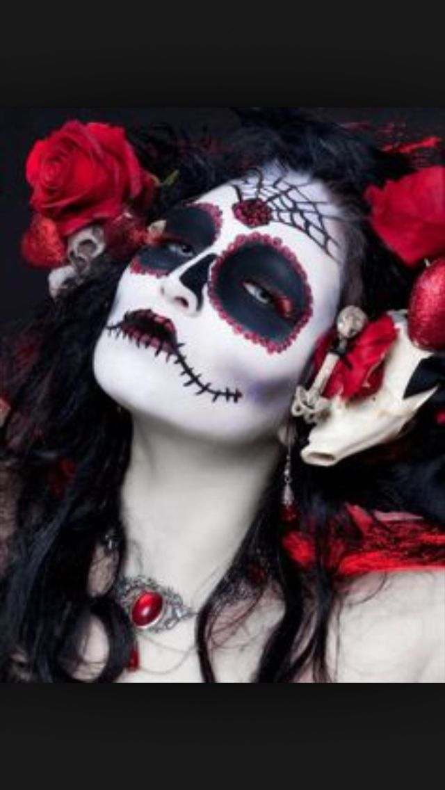 69 best Day of the Dead images on Pinterest | Halloween makeup ...