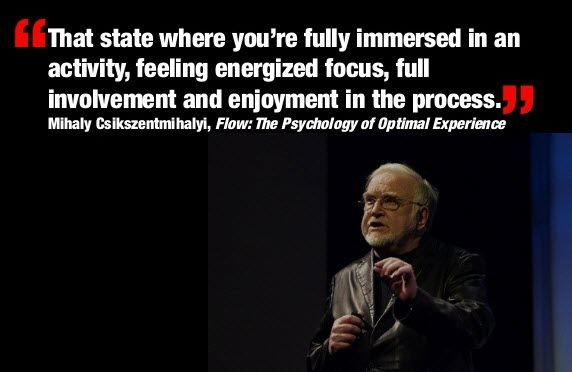 """I'm currently reading the book """"Flow"""" from Mihaly Csikszentmihalyi. The sub title is """"The classic work on how to achieve happiness"""", so it seemed like a good book to r…"""