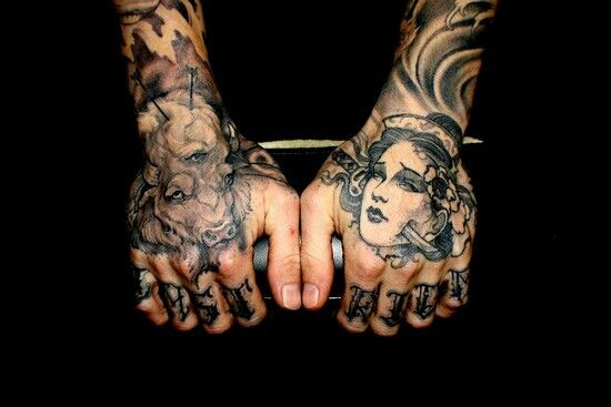 great hand tattoos tattoo ink kysa tattoos pinterest more tattoo ink and tattoo ideas. Black Bedroom Furniture Sets. Home Design Ideas