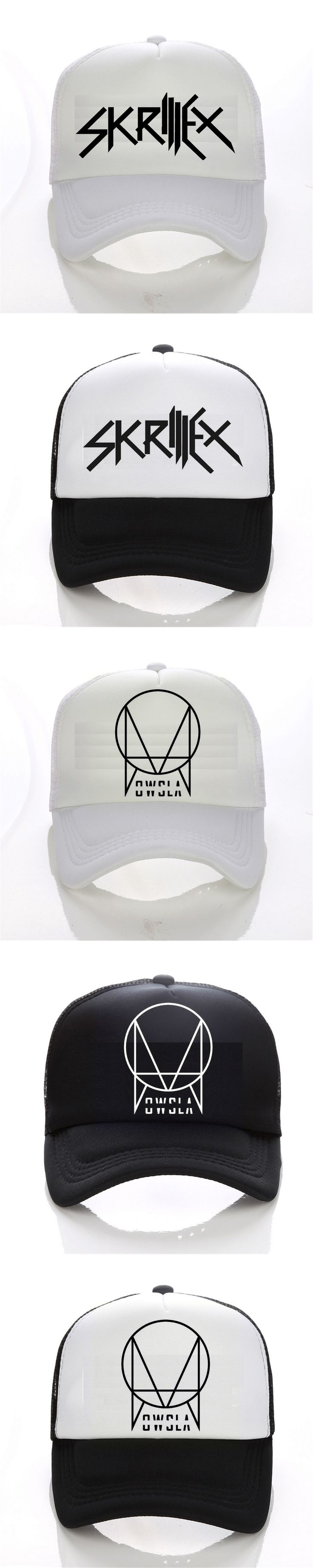 2016 New Summer OWSLA Logo cap Men DJ Skrillex baseball cap  Men Hip Hop women snapback hats