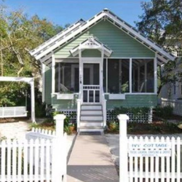 Pictures Of Beach Houses In Florida: 84 Best Images About Florida Cottages On Pinterest