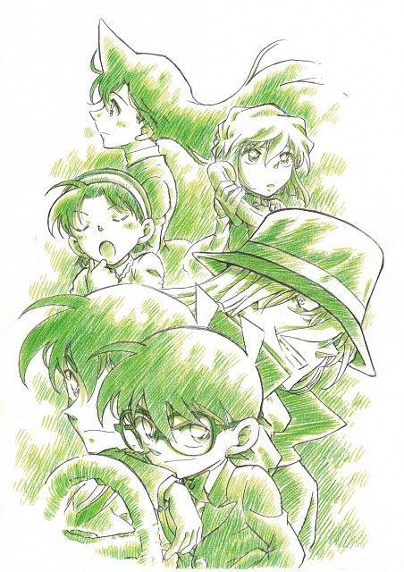 Gosho Aoyama, TMS Entertainment, Detective Conan, Ai Haibara, Ran Mouri