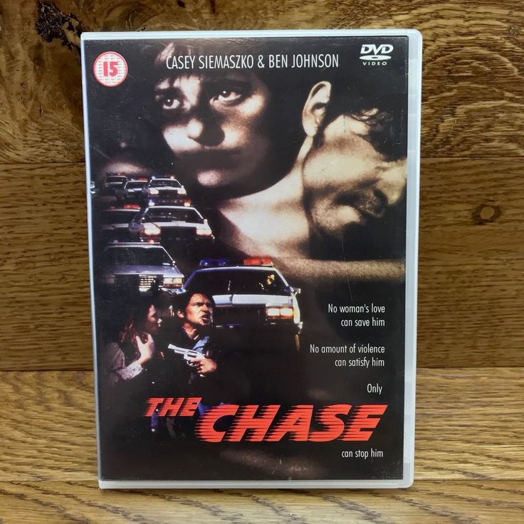 The Chase DVD 2001 cert 15 Film Movie casey siemaszko & ben johnson region 2