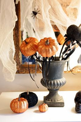 Pumpkin on a stick from Sweet Something Designs