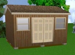 The shed utility when constructing a house.