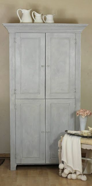 Shabby Sweet  Cottage: Armoire Redo