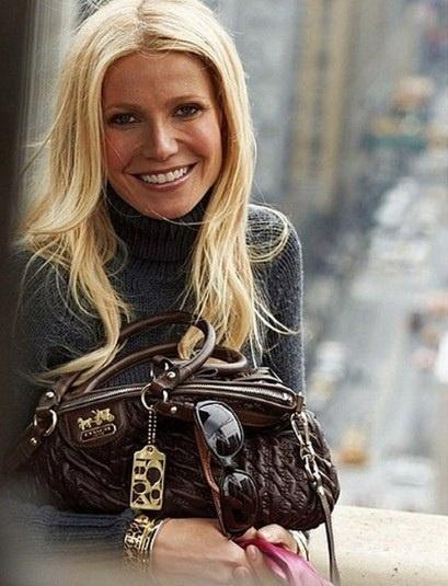 Gwyneth Paltrow: Gwyneth Paltrow, Coach Bags, Coach Handbags, Style, Coach Purses, Design Handbags, Ads Campaigns, Fashion Design, Hair