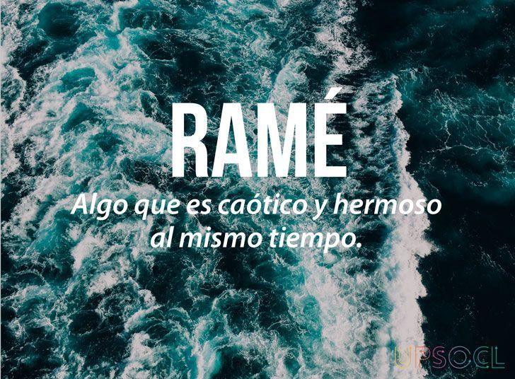 Ramé - Something chaotic and beautiful at the same time