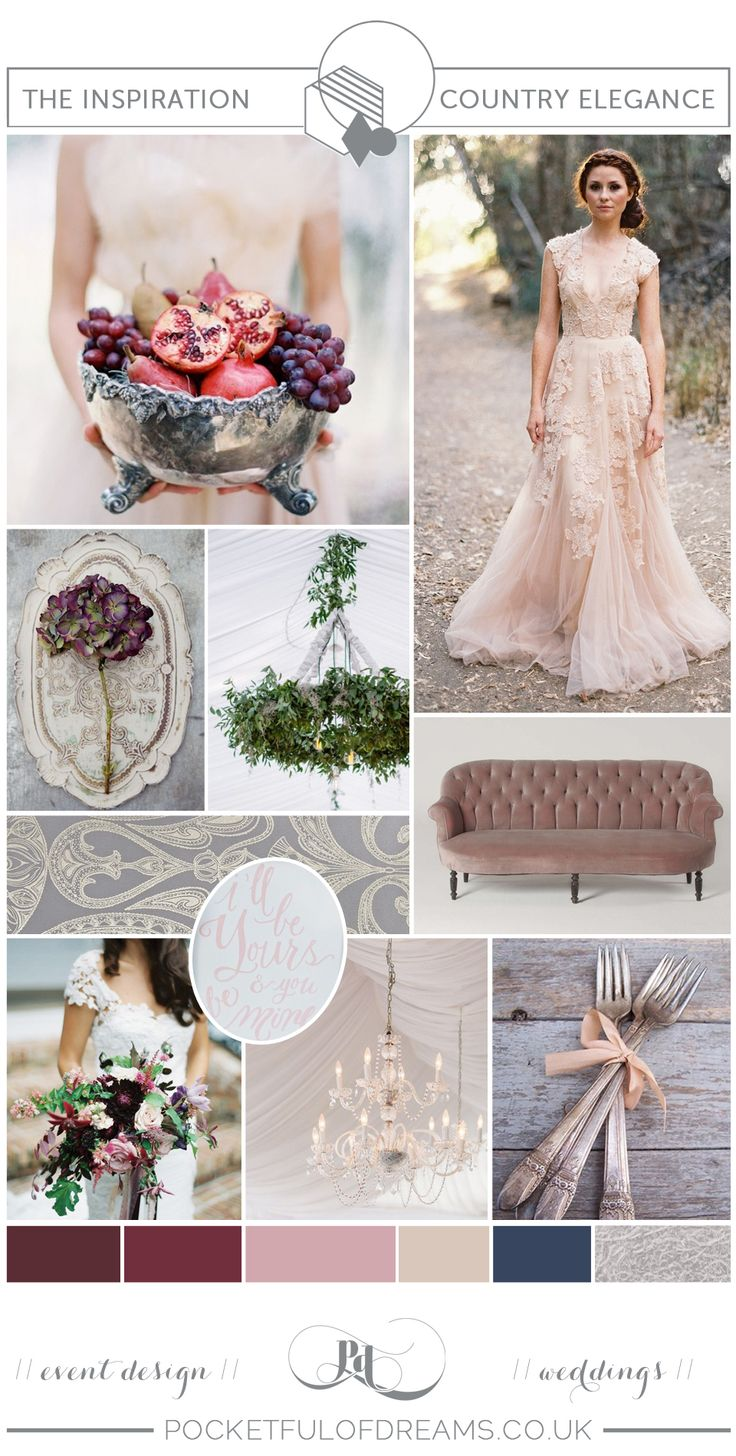 Experienced luxury wedding planners Pocketful of Dreams share their tips on how to design and plan an elegant Country House wedding