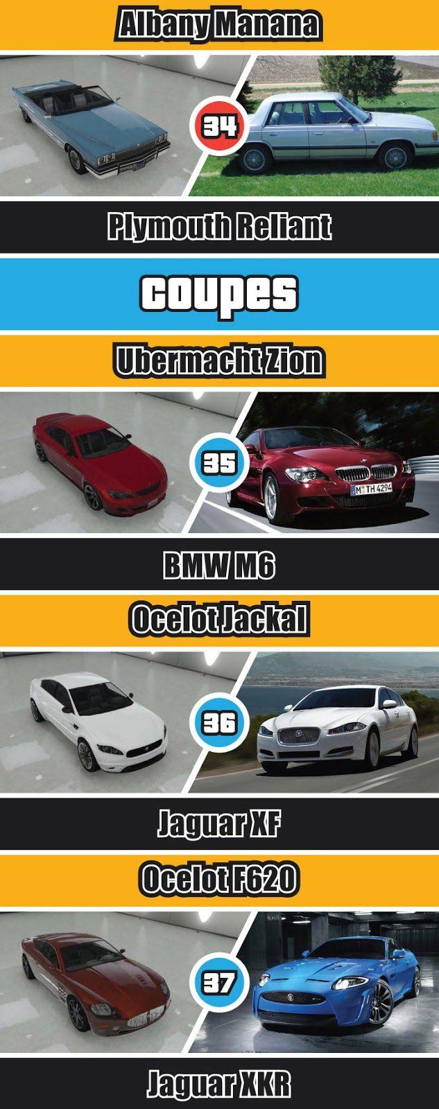 GTA-V-REAL-LIFE-CARS 37 is actually a Maserati GranTurismo