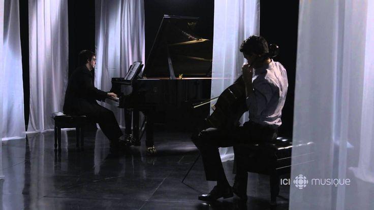 FRATRES de Arvo Part. Le violoncelliste Stéphane Tétreault et le pianiste Charles Richard-Hamelin, Révélation Radio-Canada classique 2015-2016, jouent Fratres de Arvo Pärt, en l'honneur du 80e anniversaire du compositeur estonien.