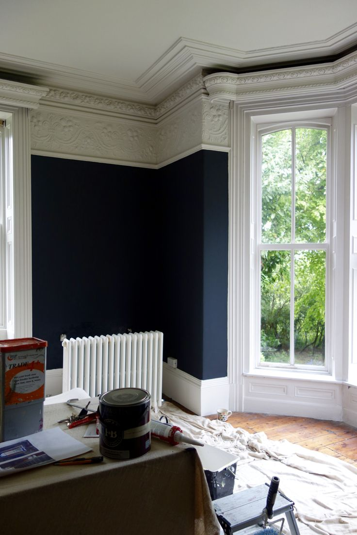 Farrow & Ball Off Black and Shadow White