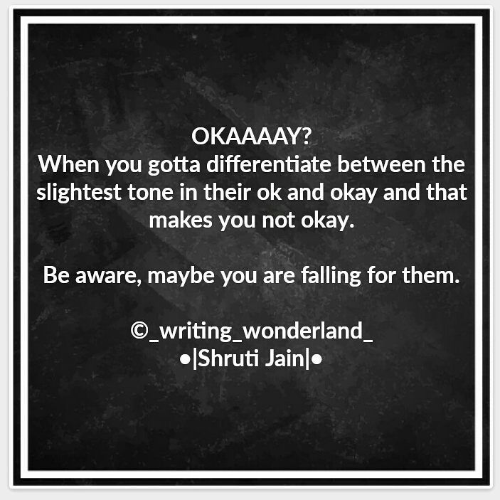 Okay?Okay!❤ ____________________________ Tag your friends�� _______________________________ •Spread love•Spread Happiness• _______________________________ Like•Tag•Share•  #love#relationship #care#quotestagram#quotes#followforfollow#like4like#writersofinstagram#instaquote#instagram#feelings#inspirationalquotes#yourquote #quote #stories #ttt #friends #thingswedoforlove #wordporn #quotestagram #priorities #wordsofwisdom #inspirationalquotes  #emotions #thoughts #3am #friendship…