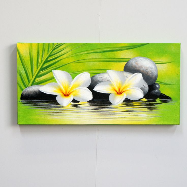 begin | Rakuten Global Market: Painting Bali painting art 42o flowers acrylic…