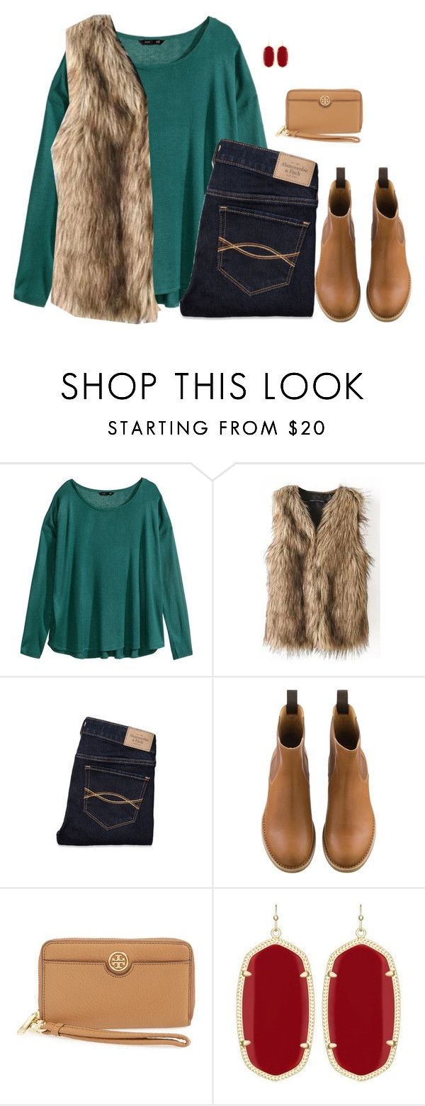 """""""Watching Narnia with my Lil' Brother"""" by sc-prep-girl ❤ liked on Polyvore featuring H&M, Abercrombie & Fitch, Tory Burch and Kendra Scott"""