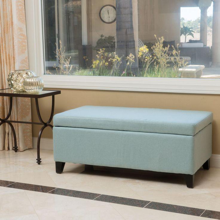 Sasten Upholstered Storage Ottoman Bench