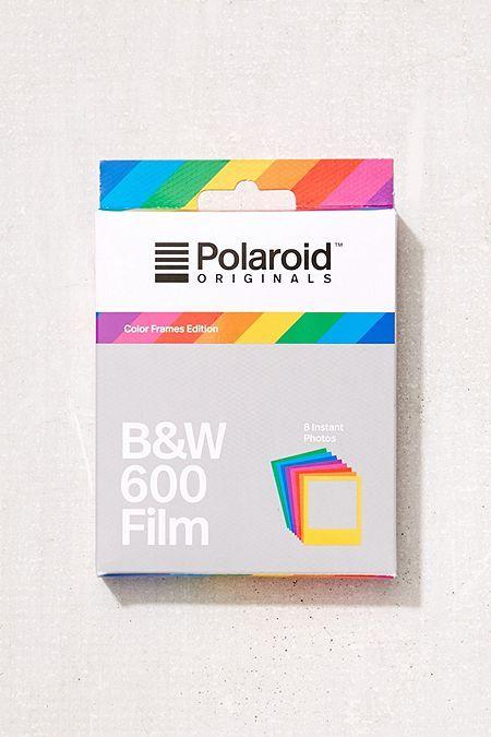 d1d0bf4da6a Polaroid Originals Color Frame B W 600 Instant Film