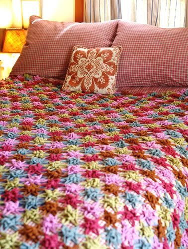 star flowers - free pattern