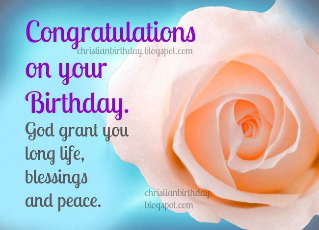 The 25 best Birthday blessings christian ideas – Religious Birthday Card Messages