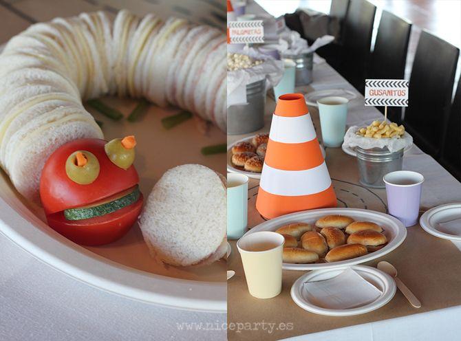 Nice party cumplea os monster truck 7 inspiraci n para fiestas infantiles fiestas - Cumpleanos infantiles comida ...