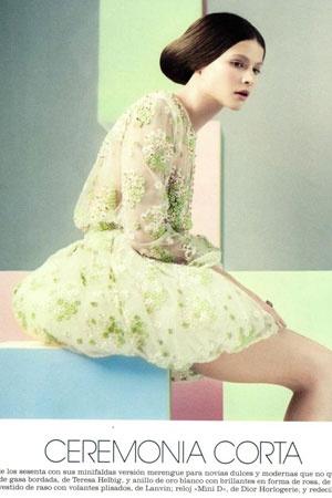 Revista Marie Claire http://vimeo.com/teresahelbig/bridal-novias-barcelona-spain