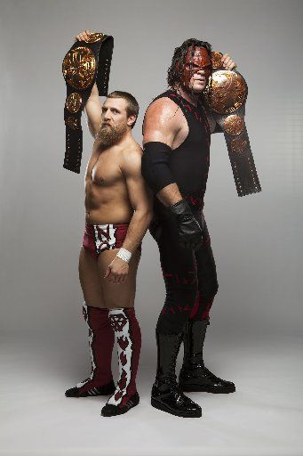 WWE Tag Team Champions = Team Hell No (Daniel Bryan and Kane) These two are a rippin' riot to watch!!!!