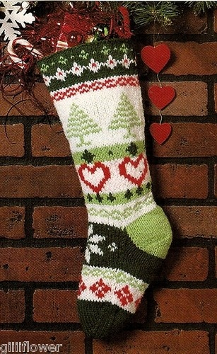 Little Boy Christmas Stocking