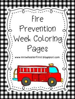 174 best images about PreK  Fire Safety on Pinterest  Coloring
