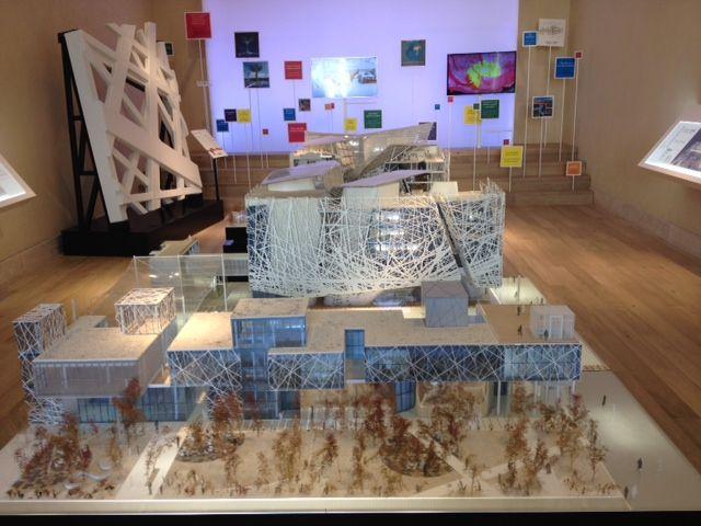 Il modello del #PadiglioneItalia per #Expo2015 di Milano esposto al #Quirinale