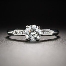 .68 Carat Diamond Vintage Engagement Ring  - What's New