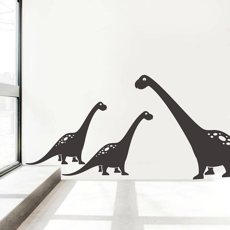 I've just found Brontosaurus Wall Sticker Decals. A pack of Brontosaurus wall sticker decals from our dinosaur range to brighten up your walls and attract the attention of your little ones.. £25.00