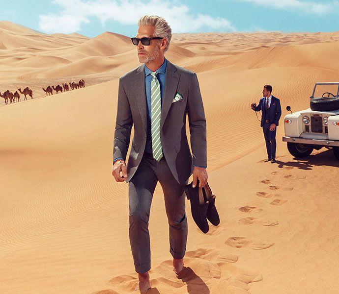 Louis Purple Suits