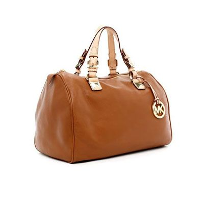 ♪♩♭◥  Michael Kors Grayson Large Satchel Luggage ,……❤❤❤…… For sale now...check it out!!! ~~~~(>_<)~~~~